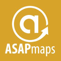 ASAPmaps Full Logo (gold, vertical)