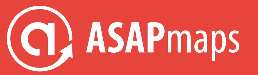 ASAPmaps Full Logo (red, horizontal)