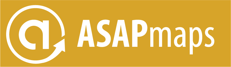 ASAPmaps Full Logo (gold, horizontal)