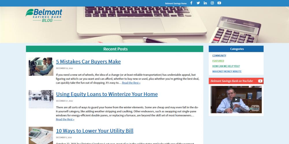 Belmont Savings Blog