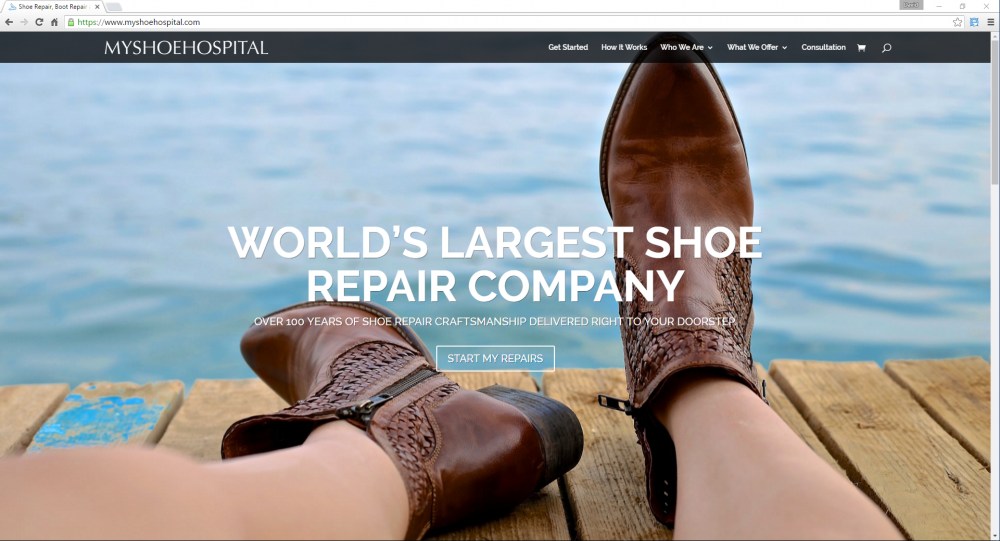 MyShoeHospital.com is an Award Winning Ecommerce Website