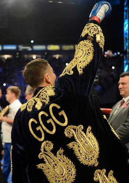 GGG in the ring