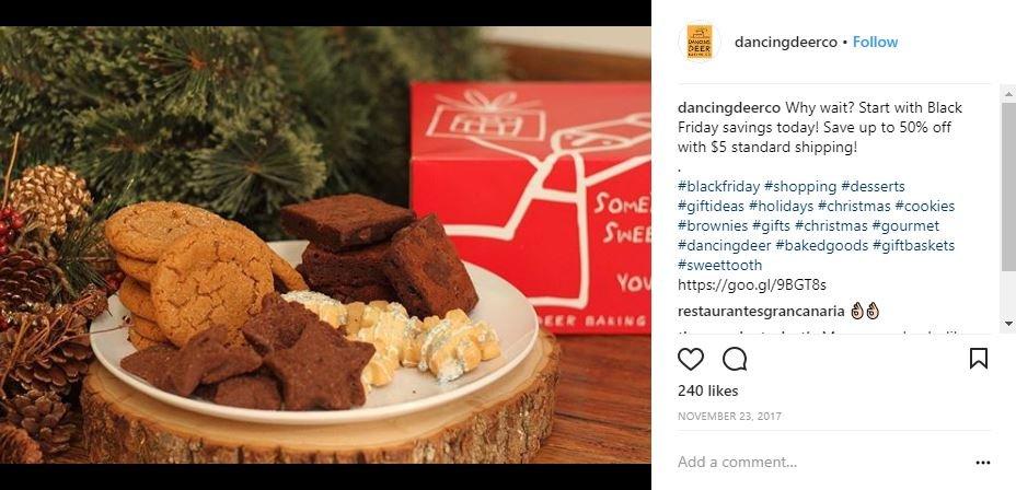 Consumer Packaged Goods Instagram Marketing