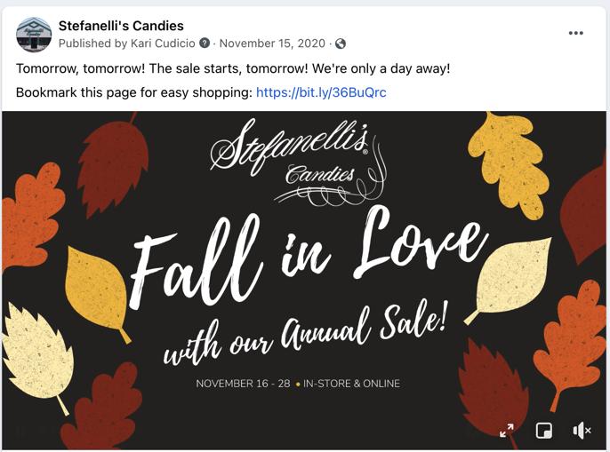 Annual Sale - Facebook Post