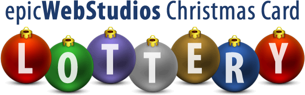 Epic Web Christmas Lottery Winners - Epic Web Studios